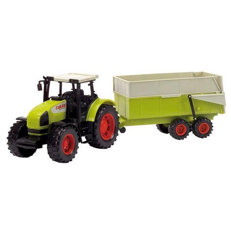 traktor mit anhänger dickie toys claas traktor mit anh 228 nger kaufen otto