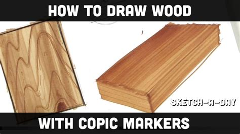 draw wood  markers part  youtube