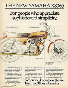 Racing Caf U00e8  Vintage Brochures  Yamaha Xs 360 1978  Usa
