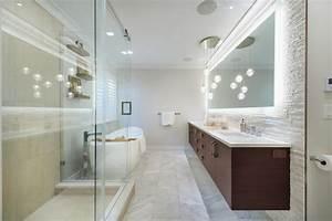 Lampe Miroir Salle De Bain : design interieur miroir salle bain lumineux rubans led ~ Dailycaller-alerts.com Idées de Décoration