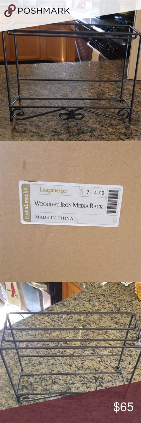 longaberger wrought iron wrought wrought iron wood shelves