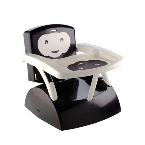 thermobaby réhausseur de chaise babytop noir noir et