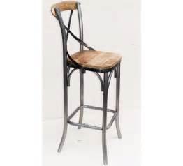 Chaise De Bar Type Industriel by Chaise Haute Pin 4273
