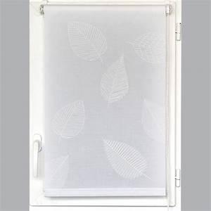 Store Enrouleur Blanc : store enrouleur tamisant uni 120 x h180 cm blanc store ~ Edinachiropracticcenter.com Idées de Décoration