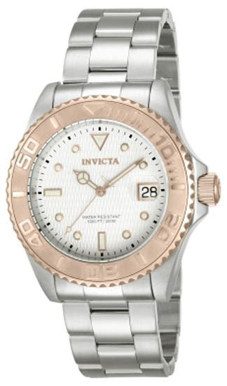Invicta 12837 Mens Watch Pro Diver Stainless Steel Case