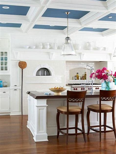 A ceiling can be the mood maker of the room. 21 Stunning Kitchen Ceiling Design Ideas