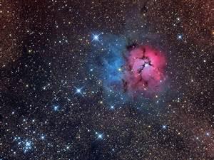HD Nebula M20 - Pics about space