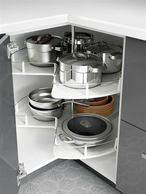 small kitchen space ikea kitchen interior organizers like corner cabinet carousels make use