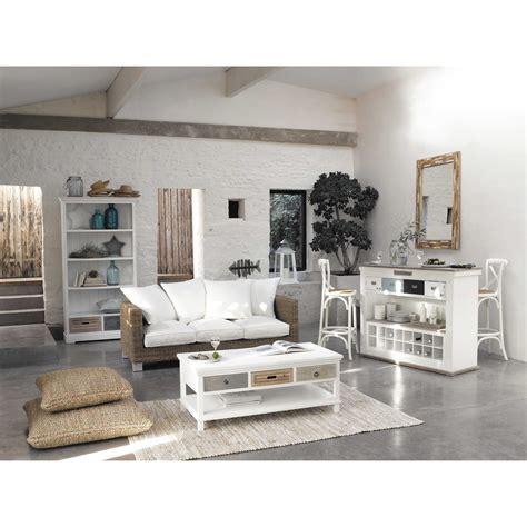 table basse blanche   idees salon pinterest maison maison du monde  deco maison