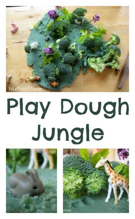 jungle animals preschool jungle small world play dough family amp 132