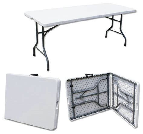 6 half folding table this is media g k event rentals