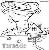 Tornado Coloring Pages Printable Sheet Cartoon Sheets Drawing Tornados Natural Air Tornadoes Drawings Disasters Preschool Draw Worksheets Village Oz Wizard sketch template