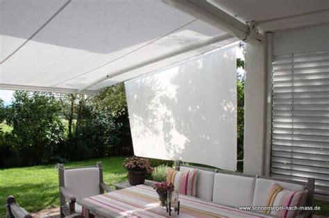 sonnenschutz terrasse seitlich skk der seitliche sonnenschutz f 252 r rolloff und markise 187 sonnensegel nach mass de