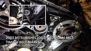 Mitsubishi L200 2 5 Tdi Timing Belt Cam Belt