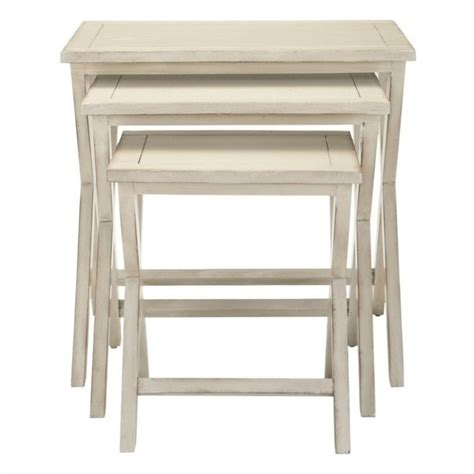 white washed table ls safavieh alan poplar wood tray tables in white washed