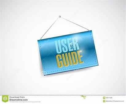 User Guide Banner Clipart Hanging Illustration Background