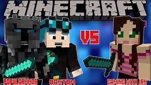 POPULARMMOS W/ DanTDM VS GAMINGWITHJEN! - Minecraft Story ...  Popularmmos