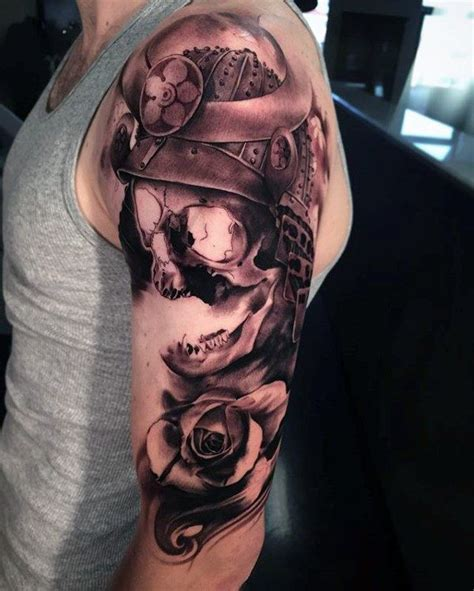samurai helmet tattoo images  pinterest