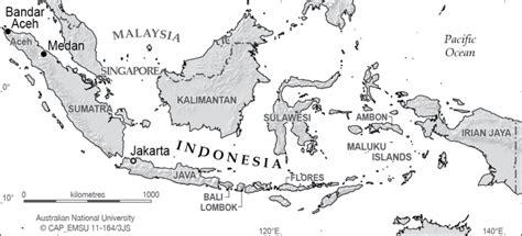 indonesia relief cartogis services maps  anu