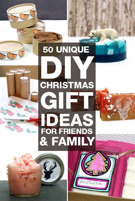 creative christmas gift ideas for friends diy gifts 50 unique diy gifts you can make for friends and family diy