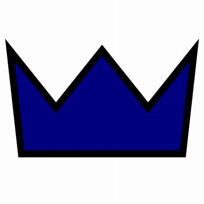 Clip Crown King Icon Clipart Clothing Navy