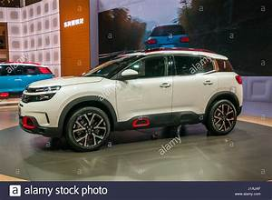 Shanghai  China  19th Apr  2017  Citroen C5 Aircross From Dongfeng Stock Photo  138531527