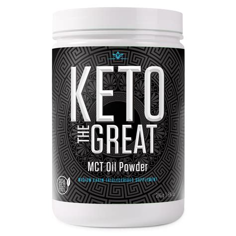 2 rapid fire ketogenic creamer. MCT Oil Powder, Medium Chain Triglycerides Supplement for ...