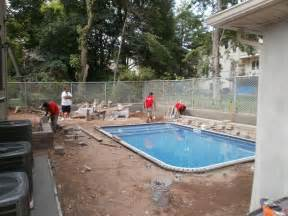 Inground Pool with Brick Pavers