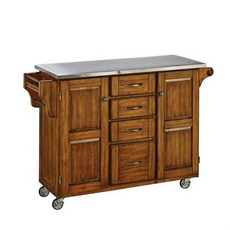 oak kitchen carts and islands kitchen carts mix and match cottage oak stained 7132