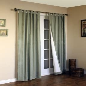 Tab Top Drapes by Tab Top Thermal Insulated Curtains Foter