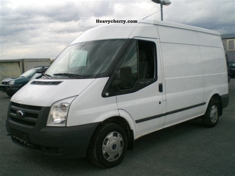 Ford Transit Ft280m 2009 Box-type Delivery Van