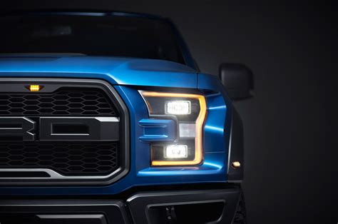 2017 ford f 150 raptor front headlight detail photo 26