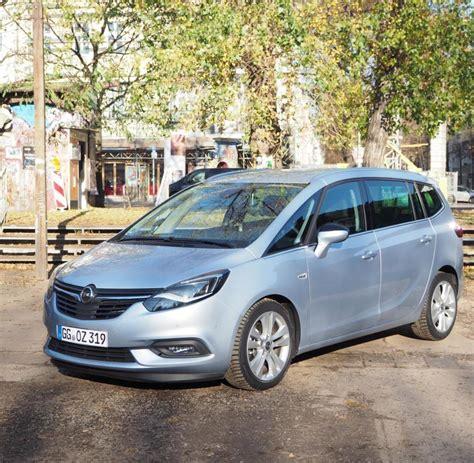 Opel Zafria by Opel Zafira So Gut Ist Der Neue Familienvan Im Test Welt