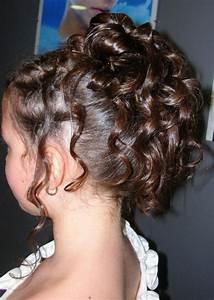 Coupe De Cheveux Fillette : coiffure fillette mariage ~ Melissatoandfro.com Idées de Décoration
