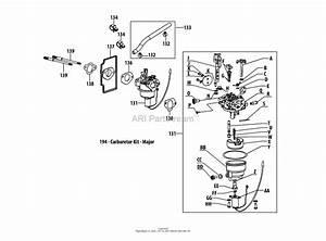 Mtd 13a278xs299  247 203770   T1200   2014  Parts Diagram For 4p90hu Carburetor Assembly
