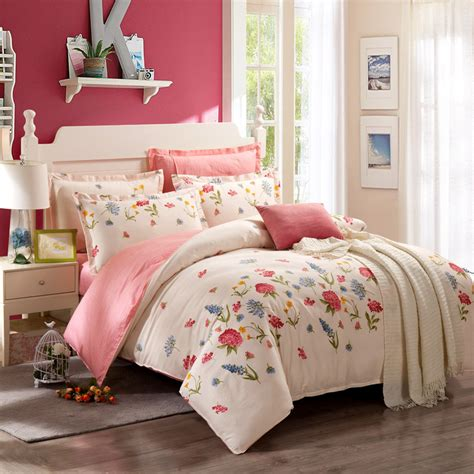 2016 High Quality Cotton Bedding Set Home Textile Fitting