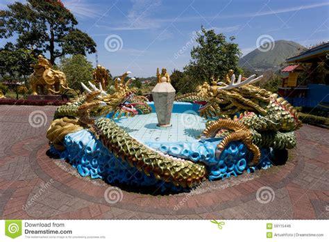 pagoda ekayana tomohon sulawesi utara stock photo image 59115446
