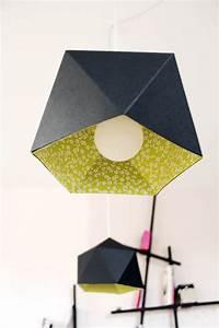 Abat Jour Origami : des id es pour faire soi m me un abat jour diy ~ Teatrodelosmanantiales.com Idées de Décoration