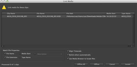 Link Media Premiere by My 10 Favorite Features Adobe Premiere Pro Next The