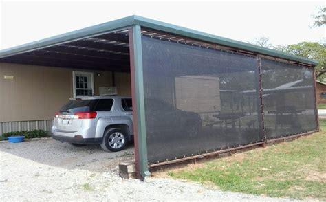 Carport And Patio Shade  Strokemaster Windscreen Supply