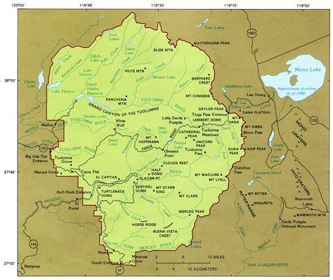 the geologic story of yosemite national park 1987