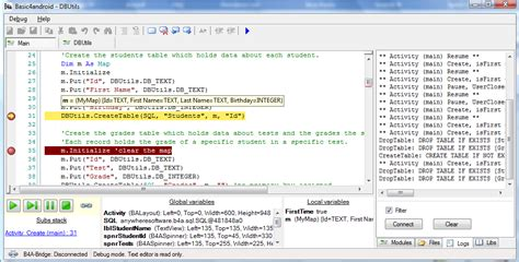 android programming basic4android screenshots