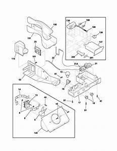Controls Diagram  U0026 Parts List For Model Plhs269zcb2 Frigidaire