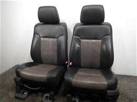 replacement ford super duty lariat ultimate    oem leather seats