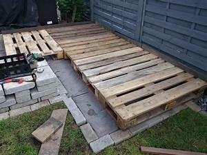 Terrasse Aus Paletten : kleine terrasse mit paletten erstellen skala4u ~ Whattoseeinmadrid.com Haus und Dekorationen