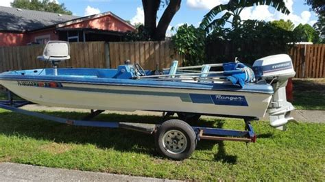 Ranger Bass Boat Wear by 17 Ranger Bass Boat 115 Hp For Sale In Ta Florida