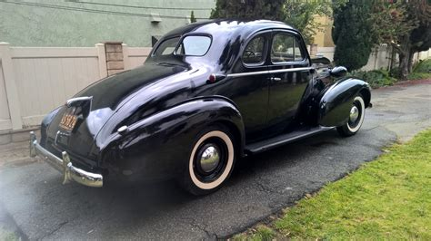 1937 Oldsmobile F37 Business Coupe For Sale On Bat