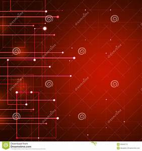 Information Technology Red Background
