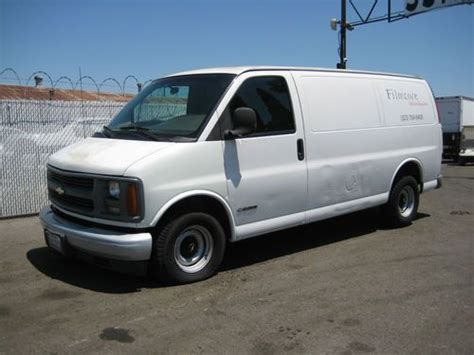 how to sell used cars 1999 chevrolet express 2500 engine control purchase used 1999 chevy express no reserve in orange california united states