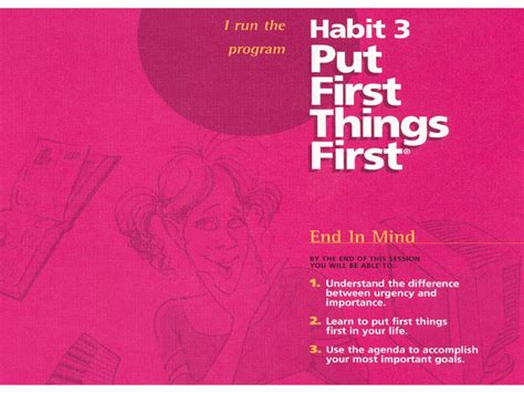habit   habits  highly effective teens project